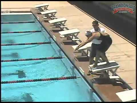an essential diving technique for leaving the starting block - Olympic Swimming Starting Blocks