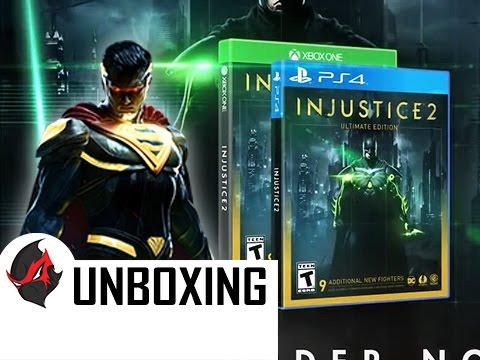 INJUSTICE 2 Ultimate Edition + Steelbook Unboxing!