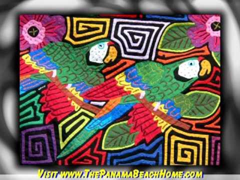 Mola Art from The Republic of Panama - YouTube
