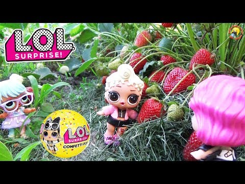 видео: Куклы ЛОЛ нашли НОВЫЕ шарики КОНФЕТТИ ПОП и ПИТОМЦЫ 3 серия 2 волна lol surprise doll toys
