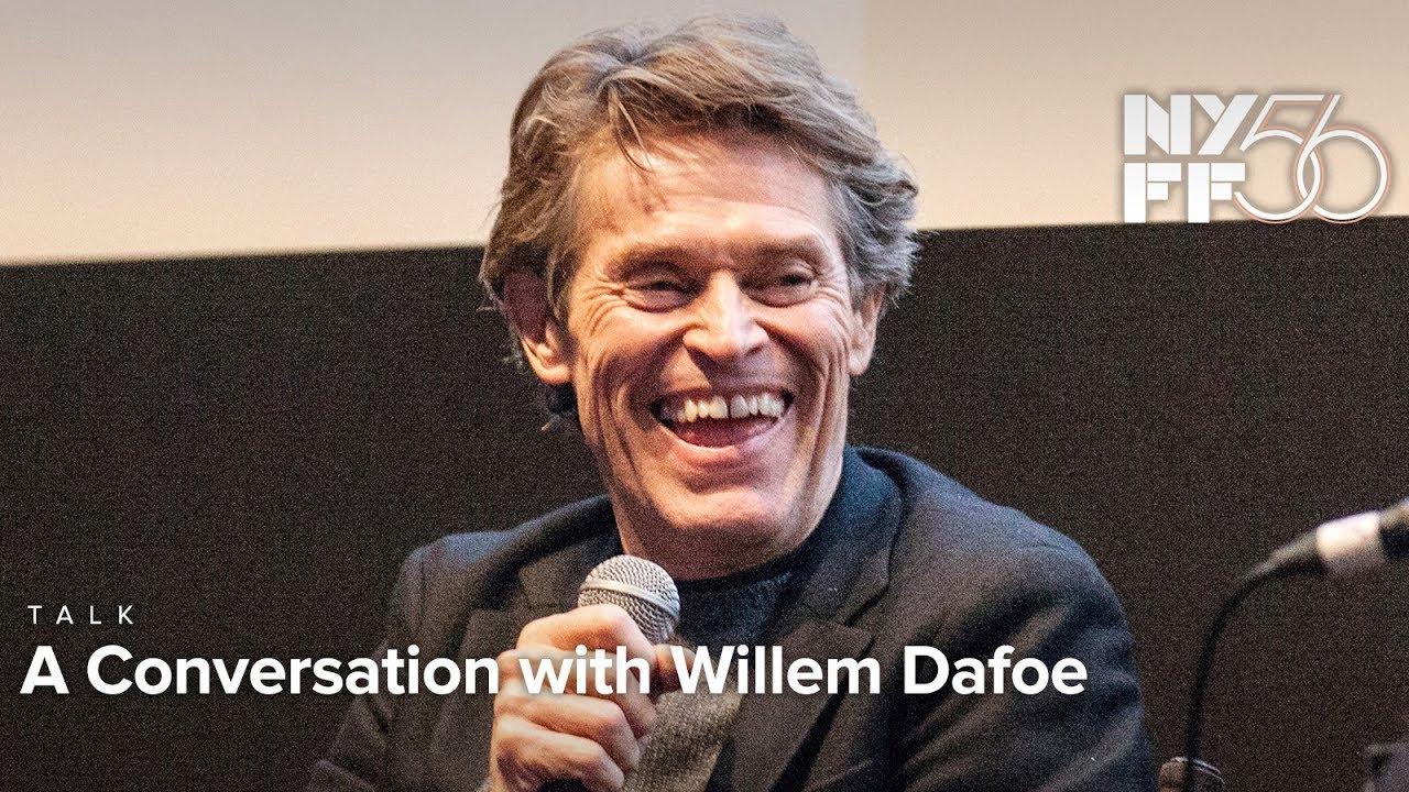 A Conversation with Willem Dafoe | NYFF56