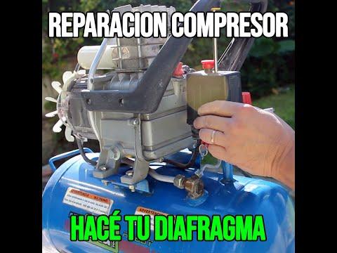 REPARAR UN COMPRESOR DE AIRE SIN REPUESTOS DE DIAFRAGMA thumbnail