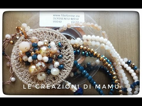 Ciondolo Mandala Ad Uncinetto Tutorial Crochet Youtube