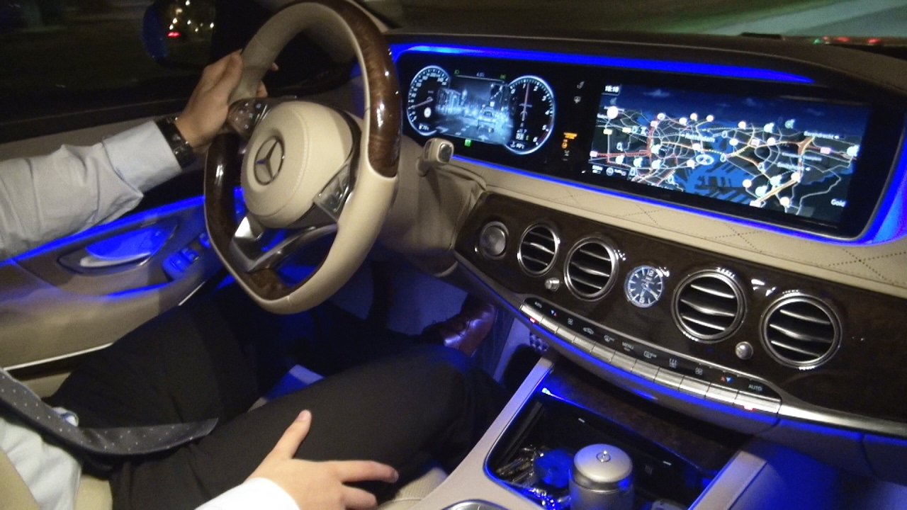2017 Mercedes S Cl Night Vision Test Review View Ist Plus S350 Amg Camera Ambient