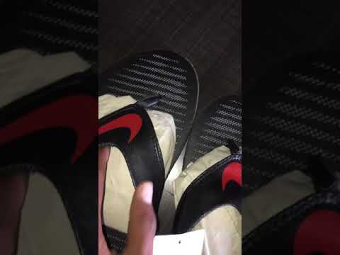 new concept 3b5ee b0c61 Fake NIKE flip flop from snapdeal