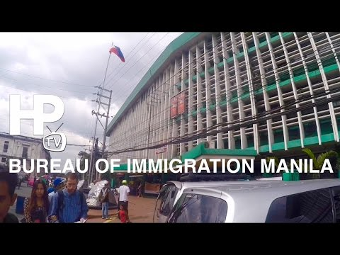 Bureau of Immigration Intramuros Manila by HourPhilippines.com
