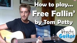 EASY 3 chord song #3 Free Fallin