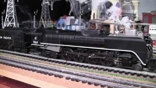 mth premier up f e f 4 8 4 o gauge steam locomotive in true hd 1080p