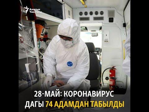 28-май: коронавирус дагы 74 адамдан табылды
