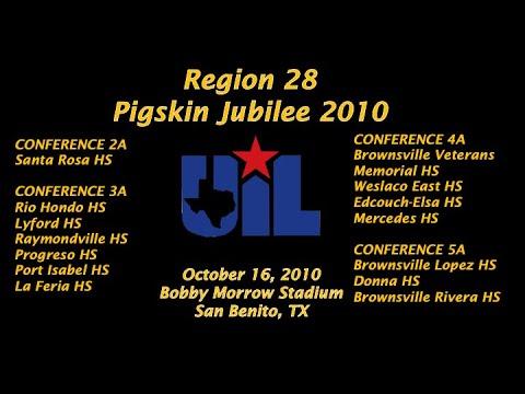 Region 28 Pigskin Jubilee 2010 - Part 1 - 2A-5A Bands