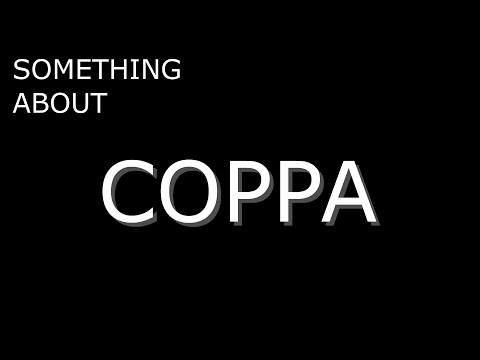 Something About COPPA (13+ Content)