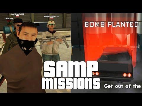 GTA SAMP Missions 2! Ryder, Sweet, Catalina, Zero