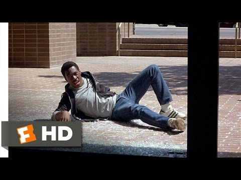 Beverly Hills Cop (3/10) Movie CLIP - Thrown Out of a Window (1984) HD