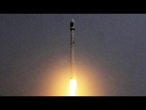 Жесткая посадка Falcon 9