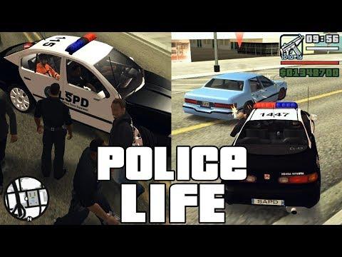 GTA San Andreas Best Police Mod