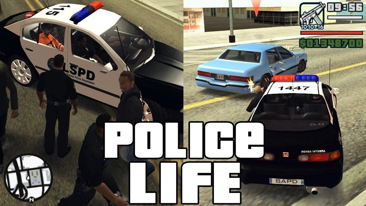 Gta San Andreas Best Police Mod Youtube