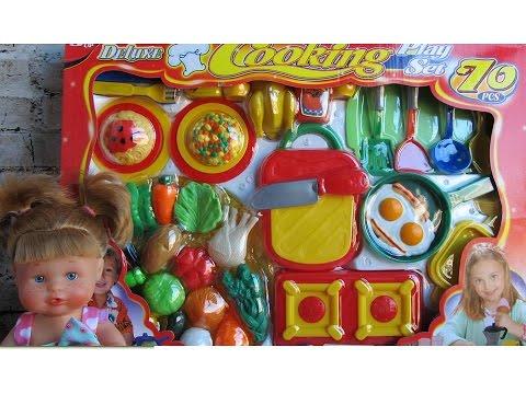 70 accesorios de cocina para bebe de juguete beb nenuco luna juguetes para ni os youtube - Cocina de nenuco ...
