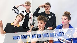 Why Don't We Plays This Or That (Things Get Crazy) | TEENAGE