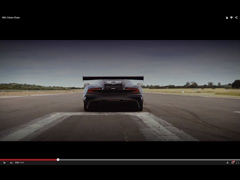 Aston Martin Vulcan. 800hp V12. First recorded launch.