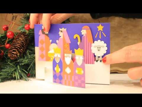 Modern Nativity - MoMA (Museum of Modern Art) Christmas cards