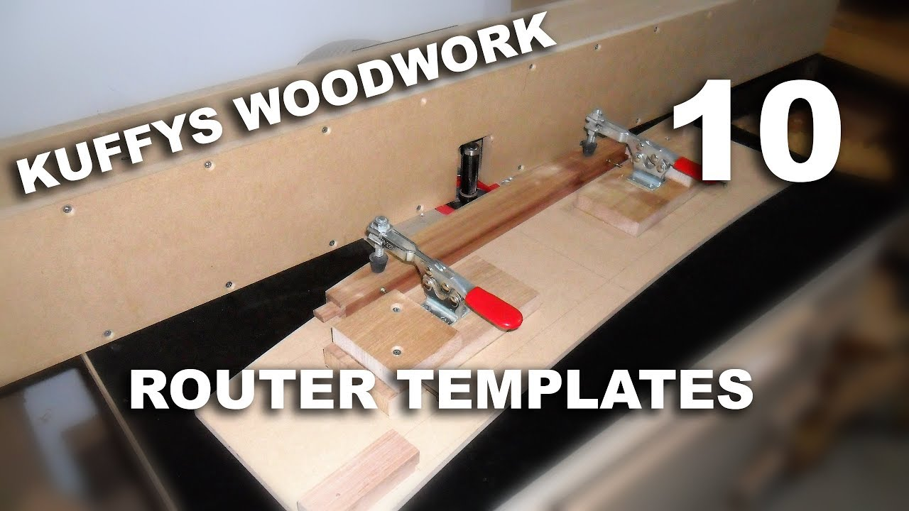 Router Template Material
