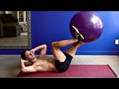 100 Abs Exercises on the Resistance Ball