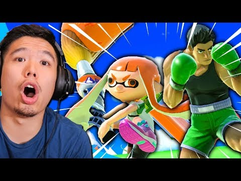 Reacting to Smash Ultimate Fails & Funny Moments thumbnail