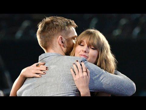 Taylor Swift Thanks BF Calvin Harris At iHeartRadio Music Awards 2016