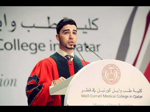 Weill Cornell Medical College Graduation Speech 2014 - Doha, Qatar