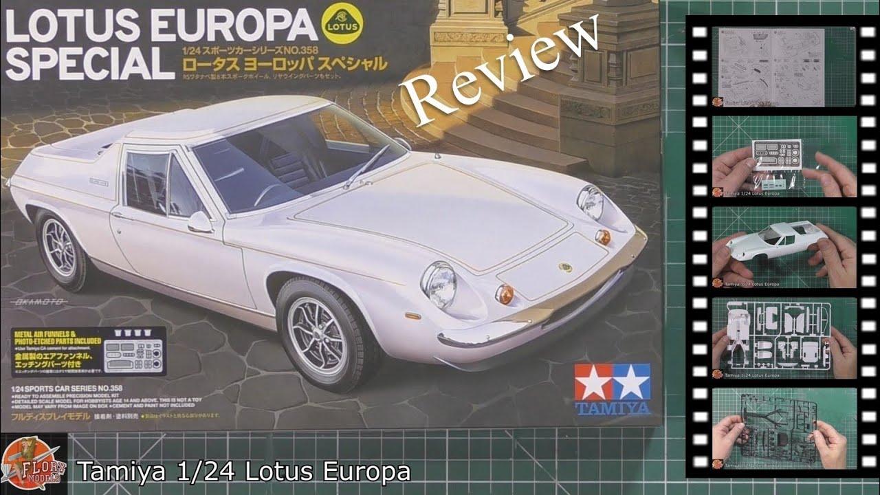 Download Tamiya 1/24 Lotus Europa review