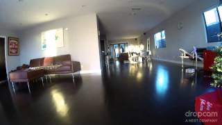 house break in caught on dropcam