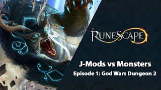 J-Mods vs Monsters: God Wars Dungeon 2 | RuneScape PvM Stream (May 2021)