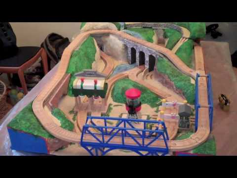 Part 5: Thomas the Tank Engine wooden railway landscape