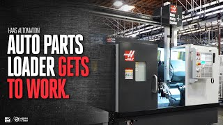 Haas ST-25Y & Automatic Parts Loader - Simple, Affordable Automation - Haas Automation Inc.