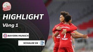 Highlights  Bayern Munich - Schalke 04  Tưng bừng khai màn  Vòng 1 Bundesliga  NEXT SPORTS