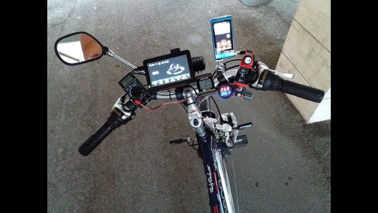 Bicicletta Elettrica Autocostruita Più Tecnologica Del 2018 Hi Tech Custom Electric Bike