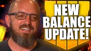 NEW BLACK OPS 4 BALANCE UPDATE! New Changes, Servers Upgraded, Big Announcement and much more!