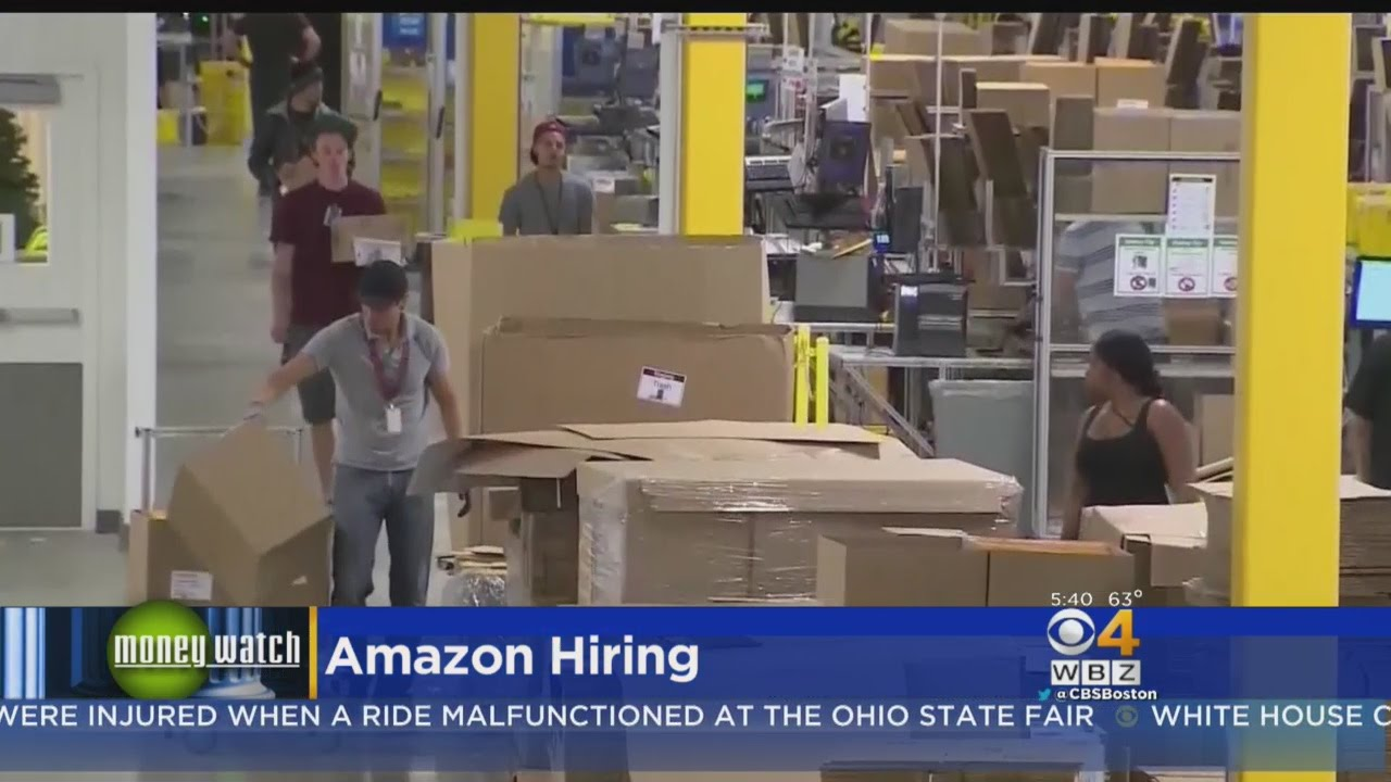 Amazon To Hold Giant Job Fair Next Week, Hire 50000 Workers