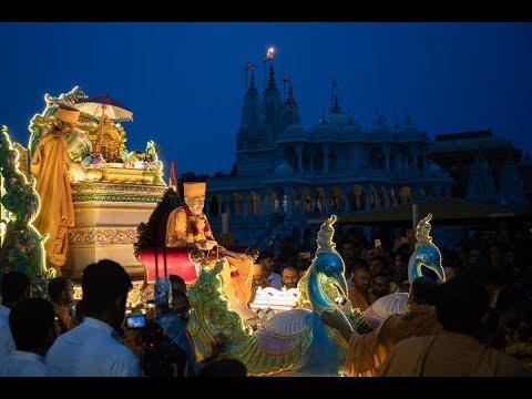 Guruhari Darshan 14 Jul 2018, Sarangpur, India