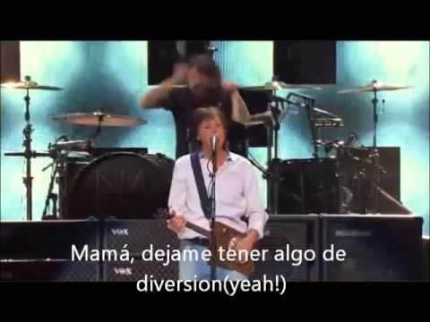 Paul McCartney & Nirvana - Cut Me Some Slack (subtitulada al español)