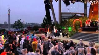 Panetoz-Fyrverkeri LIVE.Allsång på Skansen 2015.