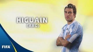 Gonzalo Higuain - 2010 FIFA World Cup