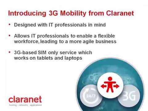 Webinar: Claranet's Mobile Broadband