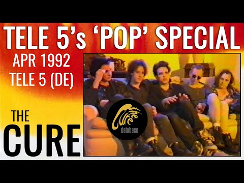 THE CURE - Pop Special - Tele 5 1992