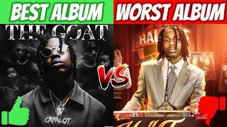 Popular Rappers BEST ALBUM vs WORST ALBUM!