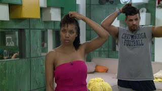Big Brother  Faysals Hair Routine  Live Feed Highlight