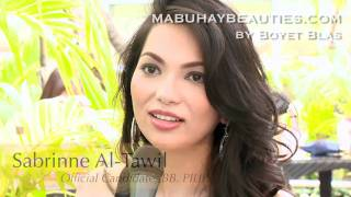 Video SABRINNE AL-TAWIL, Official Candidate of 2011 BB. PILIPINAS Beauty Pageant download MP3, 3GP, MP4, WEBM, AVI, FLV Juni 2018