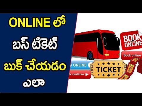 [TELUGU]How to book bus ticket online