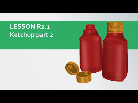 design-cg R2.1 Rhinoceros-3d - ketchup bottle part2-end