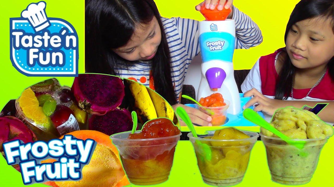 Taste n Fun Frosty Fruit Playset Make Your Own Sorbet Kids
